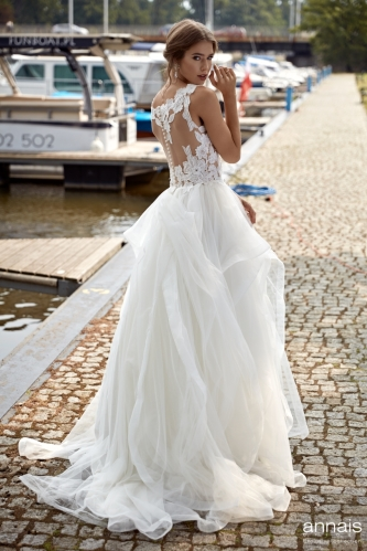 Einzigartig Brautmoden Backnang - Annais - Bethany back