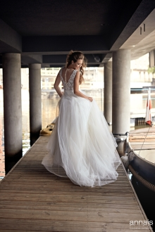 Einzigartig Brautmoden Backnang - Annais - Dess back