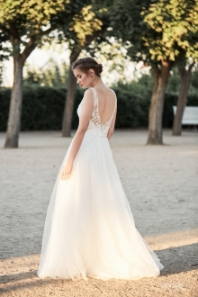 Einzigartig Brautmoden Backnang - Ola la - Elisa back