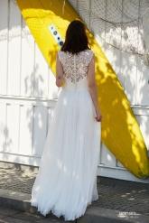 Einzigartig Brautmoden Backnang - Ola la - Livignia back