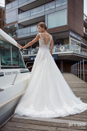 Einzigartig Brautmoden Backnang - Winona back